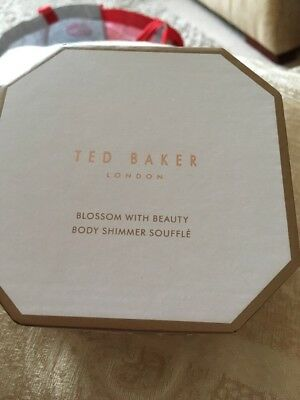 Ted Baker  Blossom With Beauty - Body Shimmer Souffle Brand New In Sealed Box