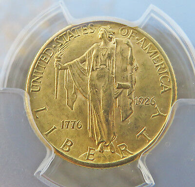 1926 $2.50 Sesquicentennial, PCGS Certified MS-63