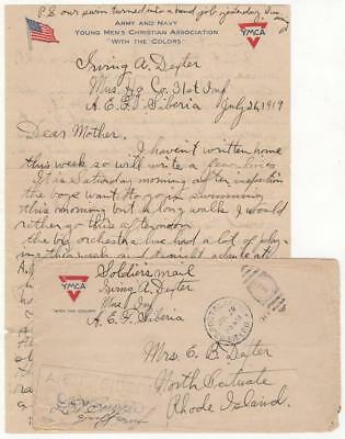 1919 - Soldier's Letter from Siberia during the Allied Intervention in Siberia
