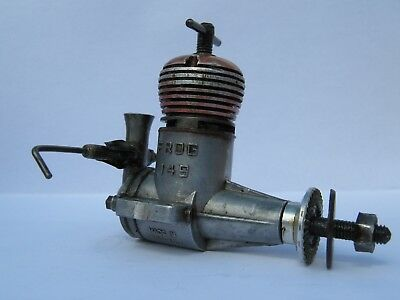 model aircraft engine Frog 1.49 Diesel