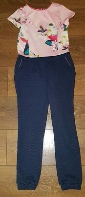 Ted Baker Girls Jumpsuit Age 9 years