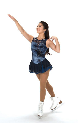 Artistic Roller Skating Dress - Jerry's Azurite Dress - Dress size Adult Small