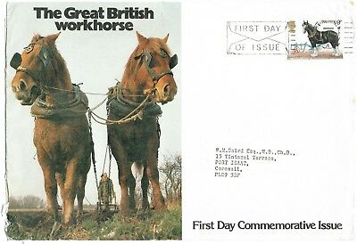 Great Britain 1978: The Great British Working Horse, Large Fdc Paddington Cancel