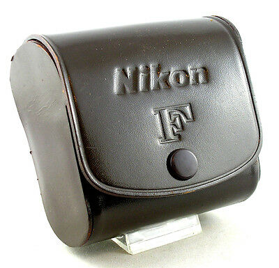 Vintage/EARLY (EMPTY)  FINE Nikon F Photomic FTn METER Leather Snap Case