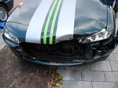 Peugeot 406 Coupe Unfall