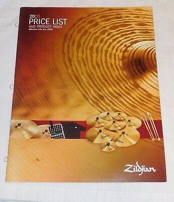 2005 Zildjian Cymbal & Drum gear Catalog