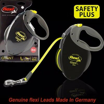 Flexi Giant Neon&Black L 8 Meter Tape