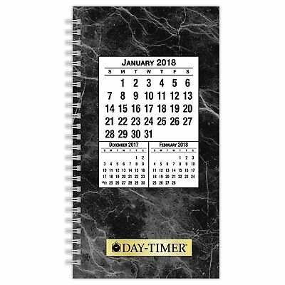 """Day-Timer Refill 2018 Two Page Per Day January 2018 - December 2018 3-1/2"""" x ."""
