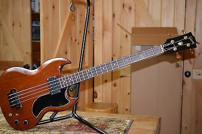 Vintage gibson ebo bass 1970's Body          All new Pickup, Bridge ,and tuners