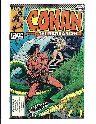 Conan The Barbarian # 154 (Jan 1984), Fn