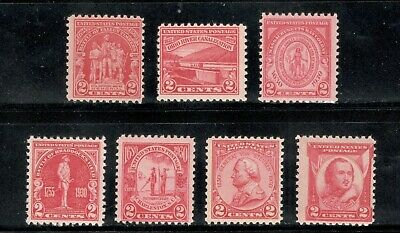 88+ Year Old Mint US Postage Stamps Reds 2c Commemoratives (680/690) MNH (A-59)