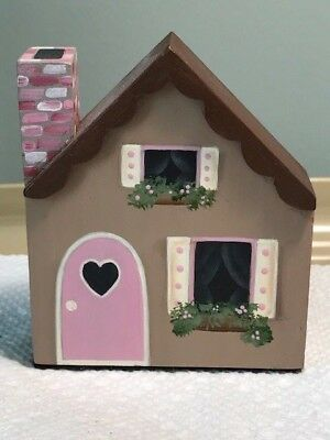 Wee Forest Folk Display, Small Wooden House