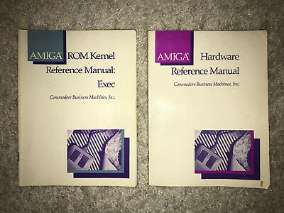 AMIGA Hardware Reference Manual und das AMIGA ROM Kernel Reference Manual: Exec