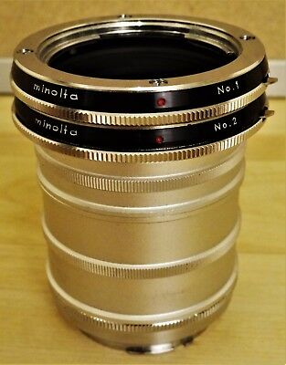 Minolta Extension Set No.1 und No.2