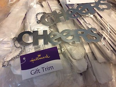 JOB LOT WHOLESALE 50 x Hallmark Cheers Gift trim / Key Rings  total RRP £150