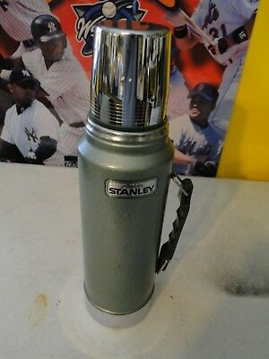 Aladdin Stanley Green Thermos Steel Bottle A-944 1-Quart New without Box! USA