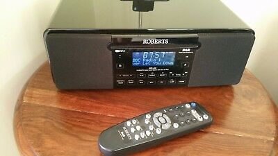 Roberts MP43 CD/DAB/FM Digital Sound System with Dock for iPod COLLECTION only