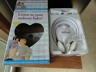 First Sounds Heart Listener Hear Listen to your Unborn Baby Headset CD