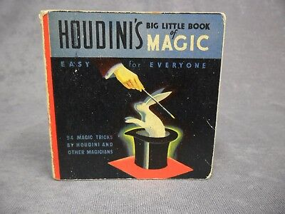 AMOCO Houdini's Big Little Book Magic 1927 American Oil Co Advertising Antique