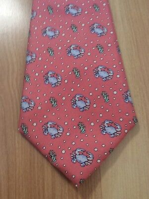 Vineyard Vines Boys Tie Crabs