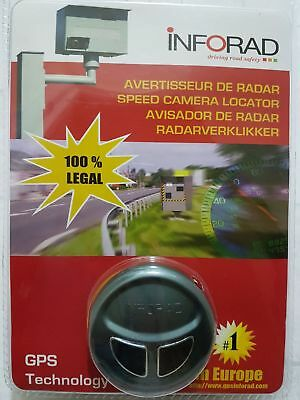 INFORAD V3 GPS Speed Camera LOCATOR/WARNING DEVICE
