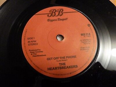 "(BEG21) '79 - 7"" Get Off The Phone THE HEARTBREAKERS (Johnny Thunders) ny dolls"