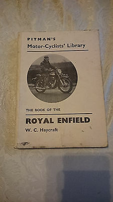 Pitmans 'The Book of The Royal Enfield' Vintage motorcycle Manual / Owners Guide