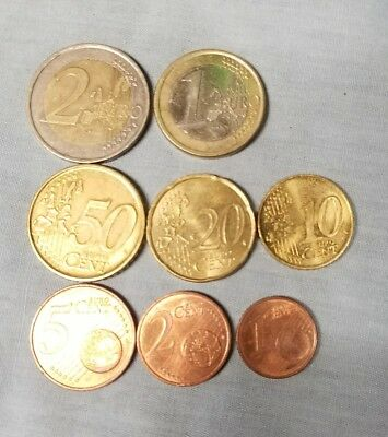 Misc Lot of Euro Coins - $3.88 Face