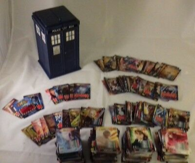 Dr Who Battles in Time 800+ card collection includes Ultra rare super rare