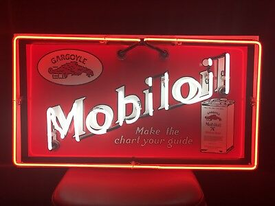 Gargoyle Mobile Oil Sign