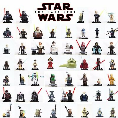 Lego Minifigures Star Wars Darth Vader - Yoda - Kylo Ren - Solo - Custom Like