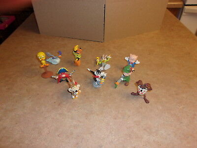 Vintage Applause 1988 Wb Looney Toons Figures 10 Characters In All