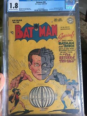 Batman Golden Age Comic 50