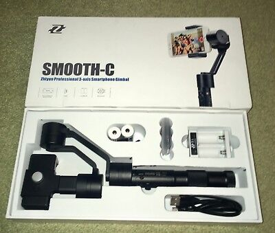 Zhiyun Z1 Smooth-C 3 Axis Handheld Gimbal Stabilizer for iPhone and SmartPhones