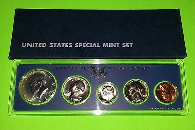 1966 US Mint Special Mint Set 40% Silver Kennedy with Original Box ! NICE SETS !