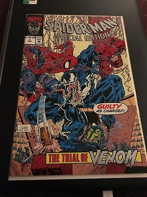 Marvel Spider-Man Special Edition #1 The Trial of Venom
