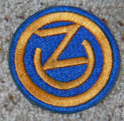 Ozark Division 102nd Infantry WW2 WWII patch uniform embroidered