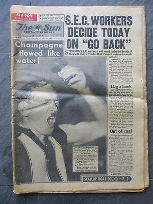 """The Sun"" - 1966 ST.KILDA PREMIERSHIP NEWSPAPER"