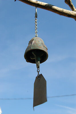 Sweet Soleri Hand Poured Bronze wind Bell  - Cosanti