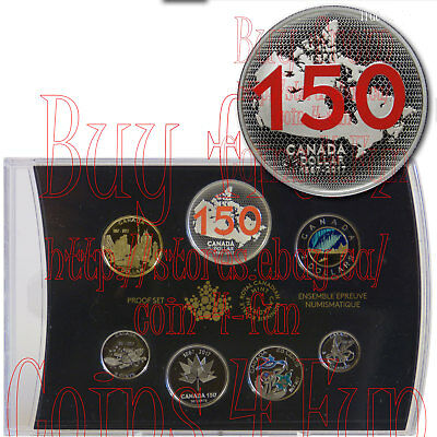 2017 Limited Edition Silver Dollar Proof Set Canada 150 Our Home and Native Land