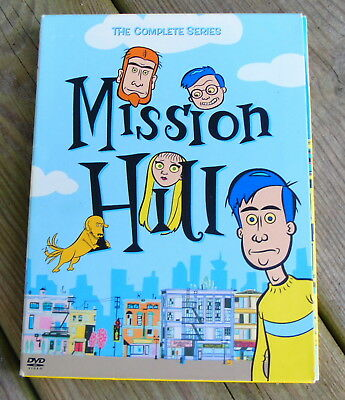 Mission Hill: The Complete Series (DVD, 2005, 2-Disc Set) Adult Swim