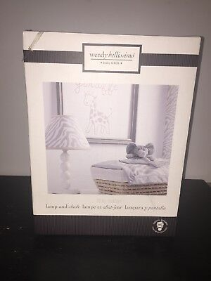 Wendy Bellissimo Lamp And Shade Little Safari