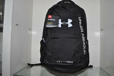 740cac2d0c Under Armour Storm Hustle II Backpack 1263964 001 Black NWT