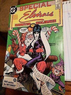 Elvira's House of Mystery Special #1 (1987, DC)