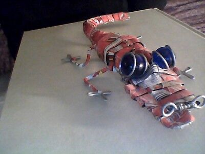 """unique Alligator """" Made from coke can and wire"""""""