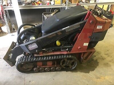 2006 Toro Dingo Tx427N Compact Skid Steer Loader Rubber Track Walk Behind Mini