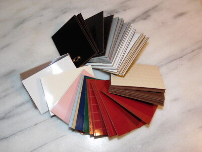 ORIGINAL 50s/60's  Formica samples 2-3/4 inches x 2 inches - 45 Tiles