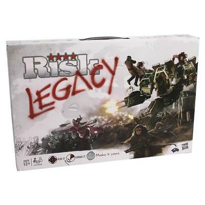 NEW Risk Legacy Board Game History Strategy World Military Cards Dice 6S3Vzh1