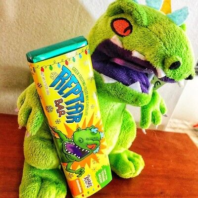 REPTAR BAR ! RUGRATS LIMITED EDITION CANDY CHOCOLATE GREEN SOLD OUT RARE - 1 pcs