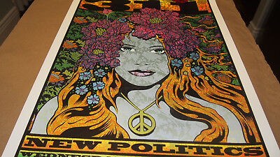 311 San Jose CA 2017 Print Chuck Sperry S/N of AE of 111 Poster